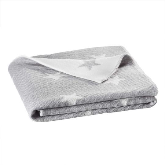 Kinder-Strickdecke Stern Merino | Kinderzimmer > Textilien für Kinder > Kinderbettwäsche | Wolle | Solo Tu