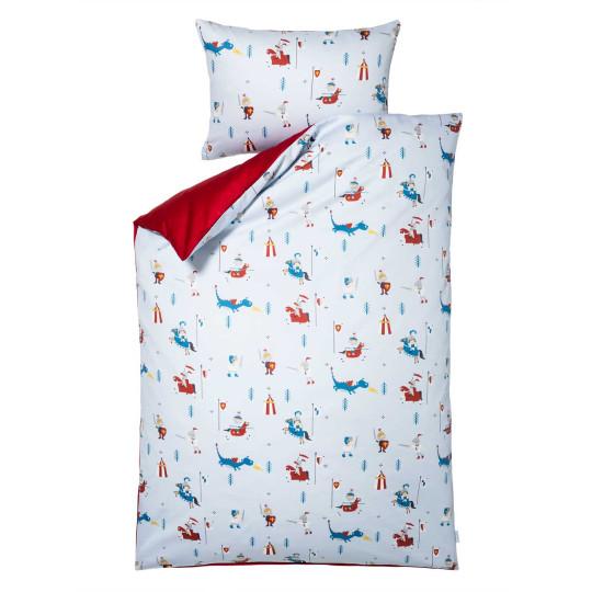 Kinder-Bettwäsche-Garnitur Ritterturnier | Kinderzimmer > Textilien für Kinder > Kinderbettwäsche | Baumwolle | Lorena