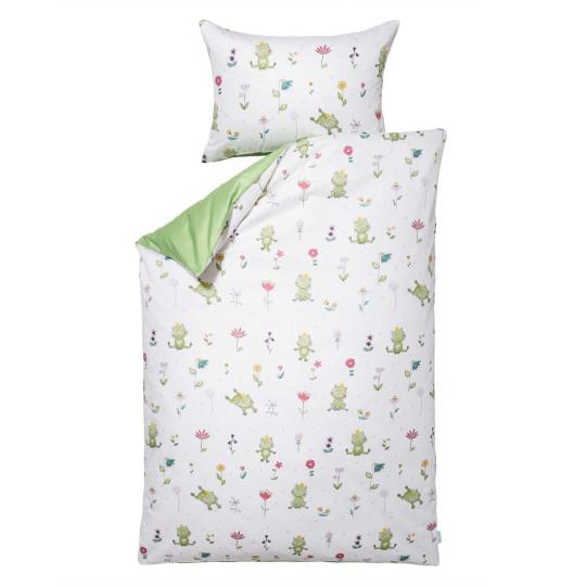 Kinder-Bettwäsche-Garnitur Froschkönig | Kinderzimmer > Textilien für Kinder > Kinderbettwäsche | Baumwolle | Lorena
