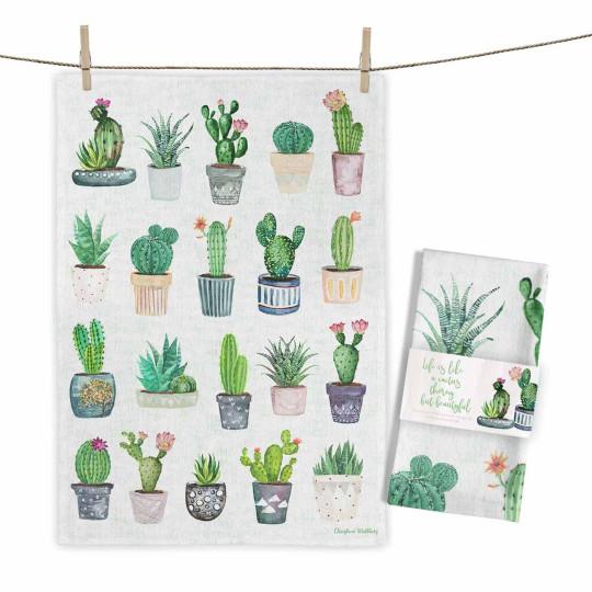 """Maluu Geschirrtuch """"Cactus Collection"""" bei Bettenrid"""
