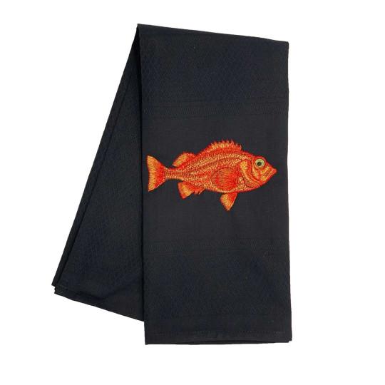 "Vista Portuguese               Geschirrtuch ""Black Redfish"" bei Bettenrid"