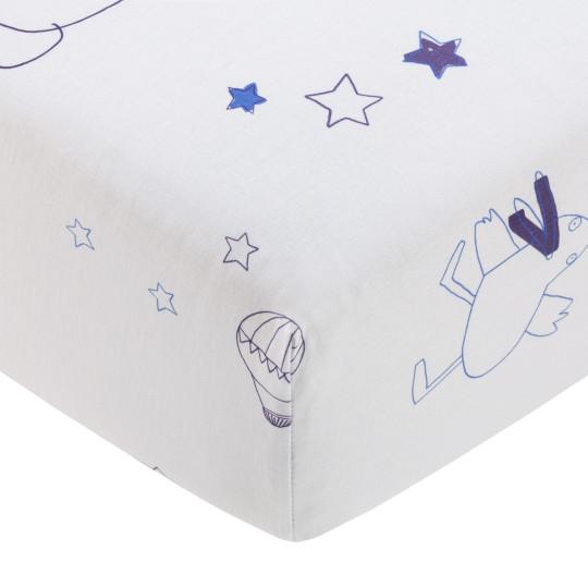 "Katha Covers Kinder-Spannbettlaken  ""Dancing Duck"" bei Bettenrid 1"