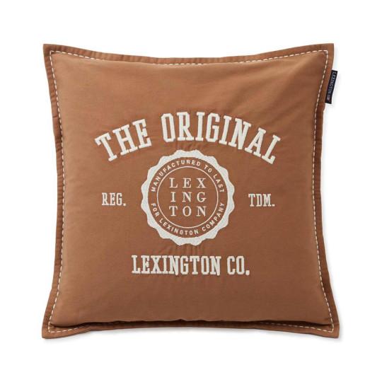 "Lexington Sofakissenbezug ""Twill Logo Message"" bei Bettenrid 1"