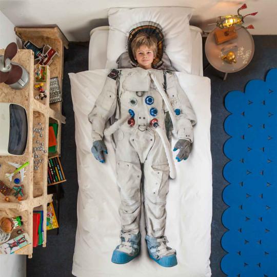 """Snurk Kinder-Bettwäsche-Garnitur """"Astronaut"""" bei Bettenrid 2"""