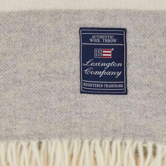 "Lexington Plaid ""Herringbone recycled Wool"" bei Bettenrid 2"